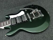 IBANEZ AX230T MFT ELECTRIC SOLID GUITAR METALLIC FOREST GREEN Bigsby Vibrato