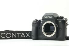 [Near MINT] Contax N1 35mm SLR Film Camera Body Black w/ Strap From Japan #1269