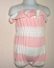 Ralph Lauren Strampler Body Schlafanzug Einteiler Rosa Gestreift  Gr. 3M / 56?
