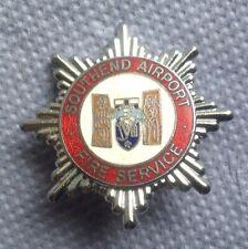 Southend Airport Fire Service Airport Fire Brigade Cap Badge