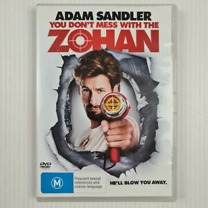 You Don't Mess With The ZOHAN DVD -Adam Sandler - Region 4 - TRACKED POST