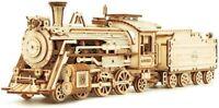 3D Wooden Puzzle Train Model Kit Prime Steam Express Mechanical Building Kits