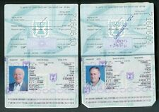 Israel 2 International Travel Documents ID Family Canseled