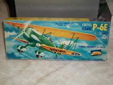 Aurora 1/48 Scale Curtiss P-6E Hawk, Kit #116-98, Dated 1955
