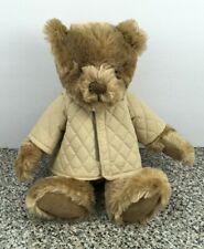 "Burberry Fragrances Plush 12"" Teddy Bear Nova Check Collar Quilted Jacket"