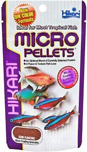 Hikari Micro Pellets- Granule food for smaller tropical fish