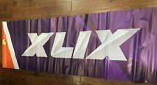 AUTHENTIC Super Bowl 49 XLIX  Patriots Seahawks Banner