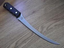 """KNIVES OF ALASKA MODEL #086FG 13"""" COHO FILLET KNIFE 440C BLADE BLACK SUREGRIP HA"""