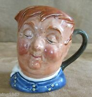 "Fat Boy Royal Doulton Toby Face Mug mini 3 1/2"" A mark pottery jug miniature"