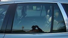 VOLVO XC90 LEFT REAR DOOR WINDOW / GLASS, PART # 43R001582, WAGON 07/03- 14