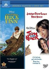Adventures of Huck Finn/Tom and Huck [2 Discs] DVD Region 1