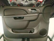 Chevrolet Silverado Tahoe GMC Sierra Front LH Driver Side Door Trim Panel Ebony