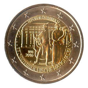2 Euro Münze Österreich 2016 Nationalbank Gedenkmünze Sondermünze