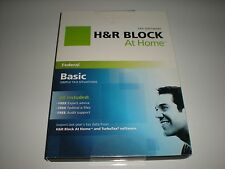 H&R Block 2011 Basic Fed Only. Formerly called TaxCut. Imports Turbotax. New.