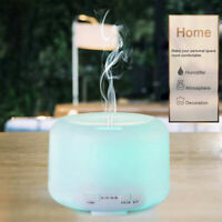 500ml 7 LED Air Humidifier Atomizer Aroma Essential Oil Diffuser Aromatherapy