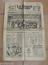 Le Canard Enchainé N° 2165 du 18 avril 1962 - Journal anniversaire 18 04 62