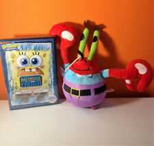 Spongebob dvd Memorie dal Freezer + peluche: Mr. Krab 20cm circa
