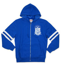 Phi Beta Sigma Fraternity Zip-Up Hoodie-Size XL- New!