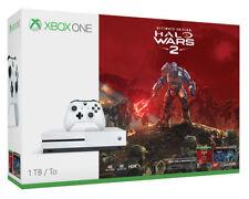 Microsoft Xbox One S 1TB Halo Wars 2 White Console Bundle, Brand New