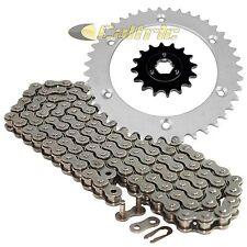 Drive Chain & Sprockets Kit Fits SUZUKI DR600S 1985-1989 DR650RSE 1990-1995