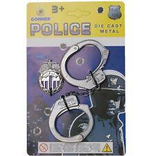 Peterkin - Police Handcuffs & Badge Diecast - Brand New