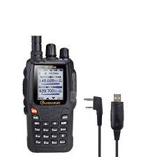 Handheld Amateur VHF/UHF Transceiver Wouxun KG-UV8D + PC cable new version 1.05