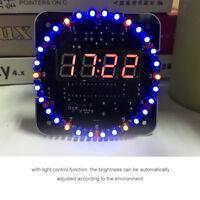 1 Bausatz DIY LED Alarm Digital Uhr Clock Kit Temperatur /Uhr Set Geschenk ✪