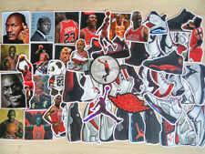 52 Jordan Basketball Shoe Sticker Vinyl Skateboard Guitar Travel Case Pack Decal