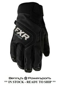 FXR Men's Attack Lite Glove Insulated Snowmobile Winter Riding Snow Waterproof