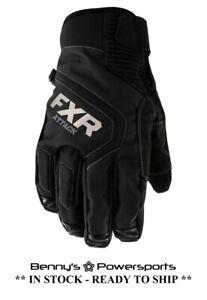 FXR Men's Attack Lite Glove Insulated Snowmobile Winter Riding Snow Waterproof