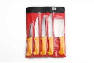 IMEX Metzgermesser 5 tlg Set Fleischermesser Schlachtermesser Küchenmesser