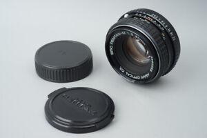 Pentax-M 50mm f/2 f2 Prime Manual Focus Lens, For Pentax K PK Mount
