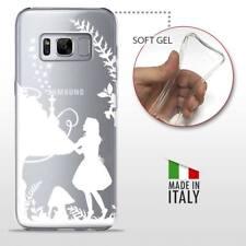 Samsung Galaxy S8 + Plus COVER PROTETTIVA TRASPARENTE Disney Alice in Wonderland
