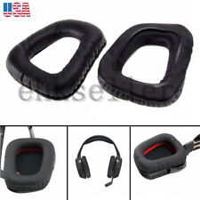 NEW Replacement Ear Pads Cushions for Logitech  G930 F450 G35 Headphones Black