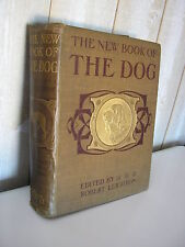 CYNOLOGIE / Leighton : the new book of the DOG 21 planches couleurs 1907