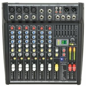 Citronic 4 Channel PA Powered Mixer Amplifier Desk 400w With Digital Effects FX