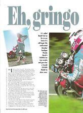 Suzuki GSF400 400 Bandit 1991 Performance Bikes road test brochure