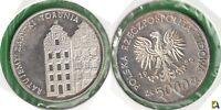 POLONIA - POLSKA. 5000 ZLOTYCH DE 1989. PLATA 0.750. (2)