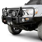 For Toyota Tacoma 95-04 Bumper Deluxe Full Width Integrit Black Powder Coat
