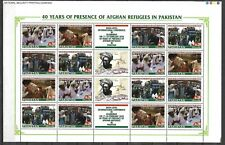 "PAKISTAN 2020 ""40 YEARS OF PRESENCE OF AFGHAN REFUGEES IN PAKISTAN"" FULL SHEET"