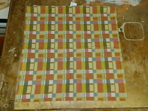 """Crate & Barrel """"Alistair Plaid"""" 23"""" Pillow Cover"""
