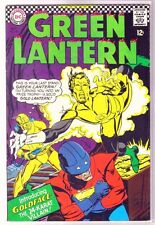 Green Lantern #48 Goldface the 24 Karat Killer! Dc Comic Book ~ Vg/Fn
