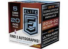 2019-20 Panini ELITE Basketball NBA Sealed Hobby Packs from Box Zion Morant 1pk