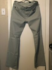 AG Adriano Goldschmied THE PROTEGE Pants Mint  Jeans Sz 34X34