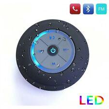 2019 Wireless Bluetooth Speaker With LED Lantern Waterproof Shower Subwoofer New