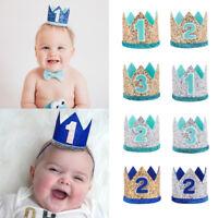 baby geburtstagshut party - kopfschmuck krone haarband florale kopfbedeckung