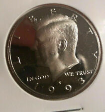 1993 San Francisco Minted Proof Kennedy Vintage United states Half Dollar Age 27