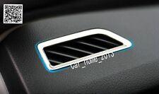 Car steel interior air conditioning vent cover For Skoda Octavia MK3 A7 2015 -17