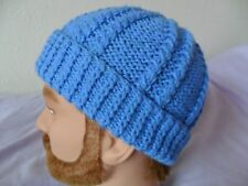 Knitting pattern - Quick & easy family aran weight hat with twist baby child