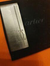 Cartier metallo argentato - fermasoldi money clip usato ALTRI Oggetti Cartier